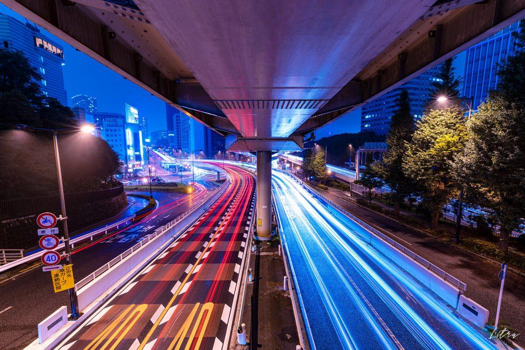 赤坂見附の歩道橋