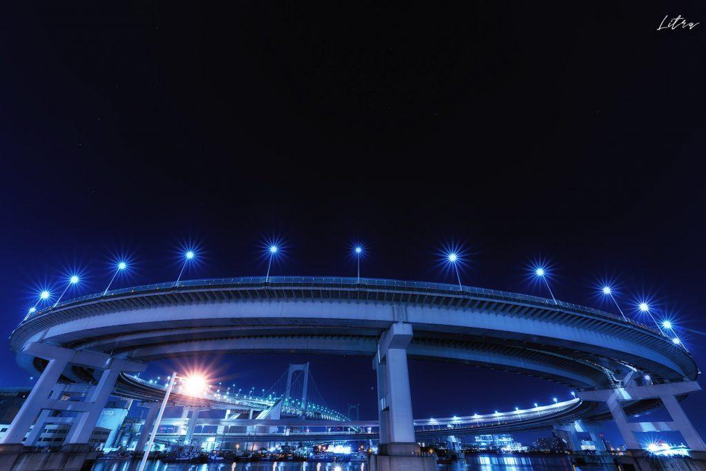 芝浦のループ橋