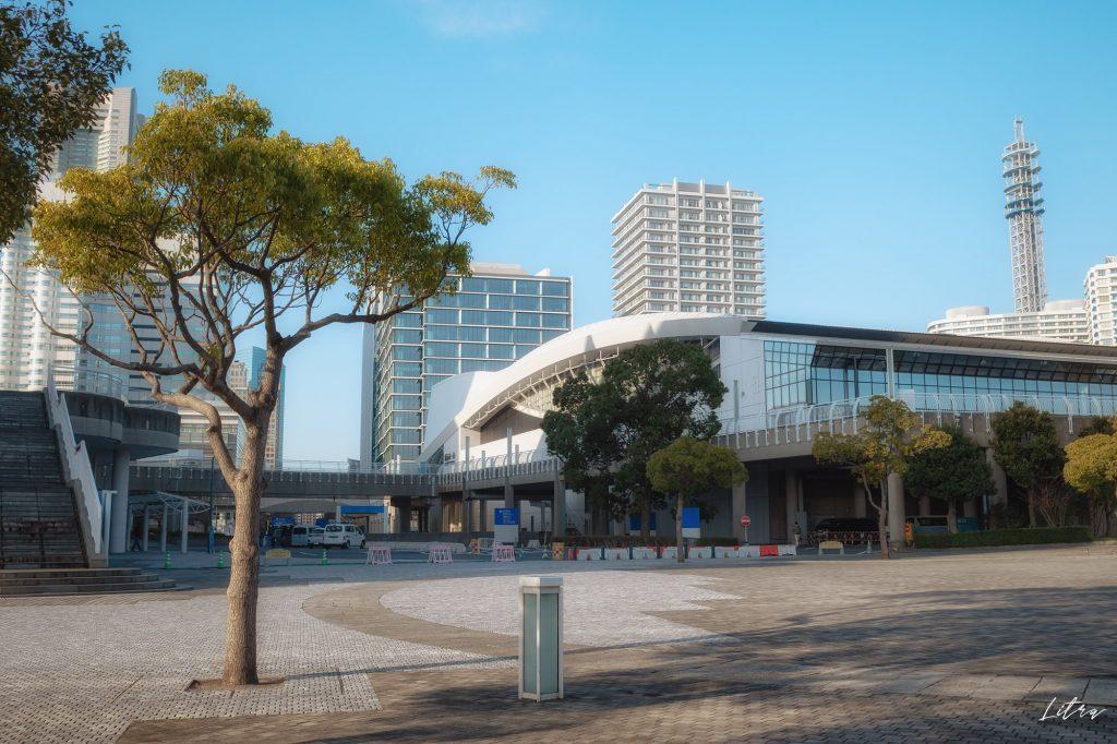 パシフィコ横浜と横浜メディアタワー