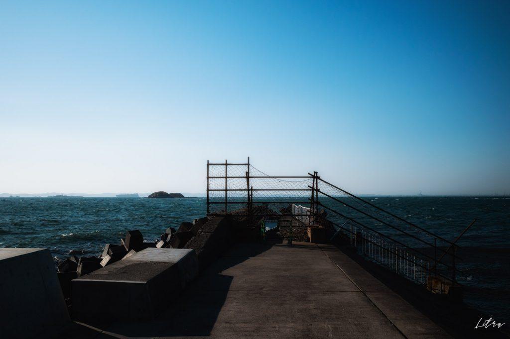 すぐ近くに見える第一海堡
